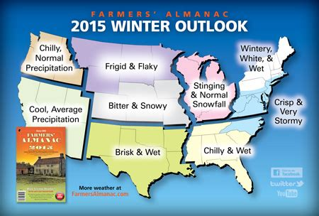 2014 2015 winter weather forecast map u s old farmer more shivery and shovelry read our 2015 winter forecast