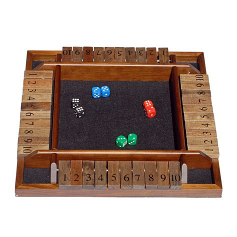 Walmart Dining Room Furniture by We Games 4 Player Shut The Box Shut The Box At Hayneedle