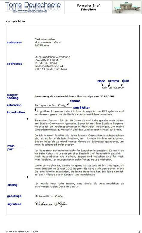 Offizieller Brief Daf pin susana auf lernen
