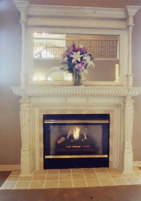 country fireplace with tile surround lacenter wa by