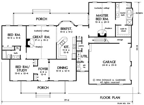 ranch house plans 2000 square eplans farmhouse