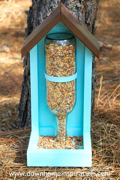 7 Pretty Bird Feeders by Bottle Bird Feeder Diy Crafts
