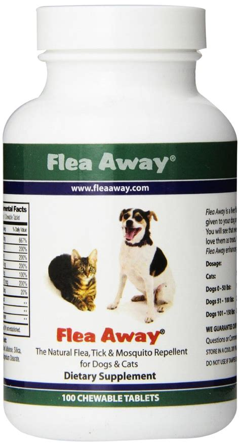flea pill for dogs flea away the flea tick and mosquito repellent for dogs and cats review