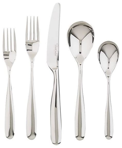 modern flatware sets modern flatware sets 60 modern stanton mirror 5 piece placesetting modern flatware and