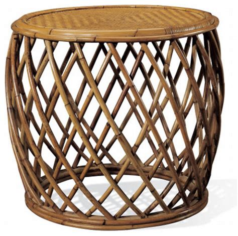 rattan accent table cape lodge rattan side table tropical side tables and