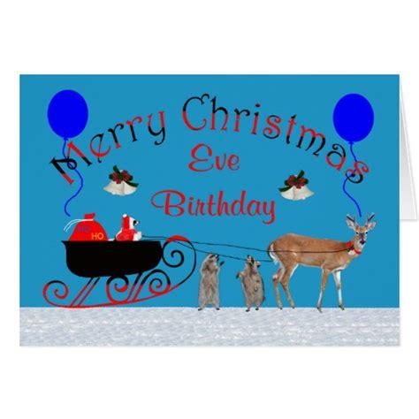 images of christmas eve birthday birthday on christmas eve greeting card zazzle
