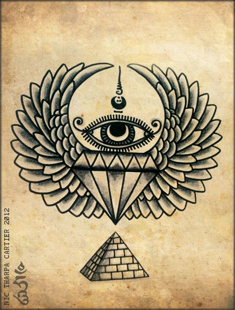illuminati tattoo some illuminati nic tharpa cartier 2012