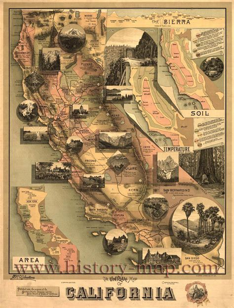 california map history california map jpg 1200 215 1581 favorite places spaces