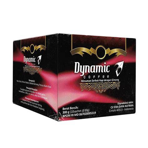 Kopi Dynamic Original 30 Sachet jual dynamic coffee kopi bubuk 30 g 10 sachet