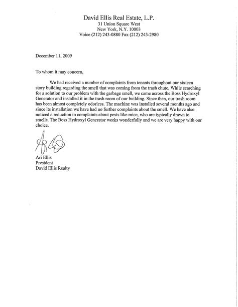 Employee Letter Of Concern Sle Exle Of To Whom It May Concern Cover Letter The Best Letter Sle