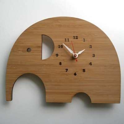 wood clock designs a茵a 231 l莖 ilgin 231 tasar莖m moda duvar saati