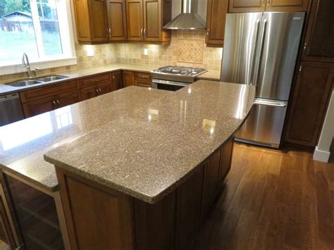 kitchen island with granite countertop giallo antico granite kitchen with island granite