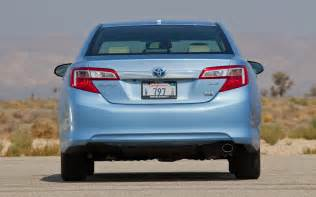 Best Tires For Toyota Camry Se 2012 2012 Toyota Camry Hybrid Xle Rear End Photo 9