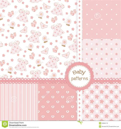 seamless pattern baby pics for gt baby wallpaper design pink