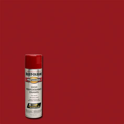 rust oleum professional 15 oz gloss regal spray paint of 6 7565838 the home depot