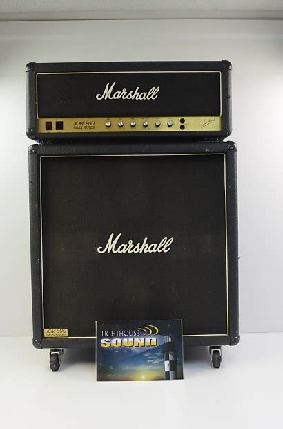 marshall jcm800 bass series cabinet marshall 1992 jcm 800 bass series 100 watt lifier