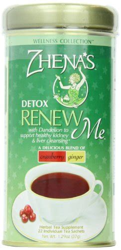 Renew Detox Tea zhena s renew me detox tea 1 29 oz 22 count desertcart