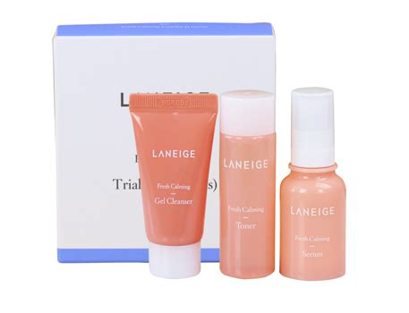 Laneige Fresh Calming Serum 10ml happybeauty laneige fresh calming trial kit 3 items