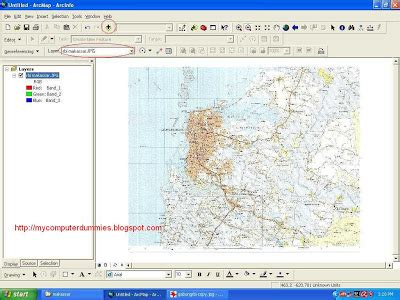 tutorial georeferencing arcgis registration raster format jpeg bmp tiff with