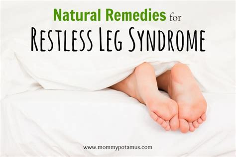restless leg home remedies restless