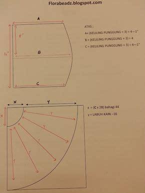Gamis Payung 6 pola kain kembang payung peplum florabeadz academy kain kembang sewing projects