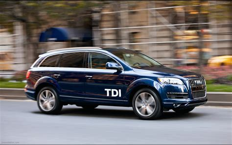 Audi Q7 2012 by Audi Q7 Tdi 2012 Widescreen Car Wallpapers 02 Of
