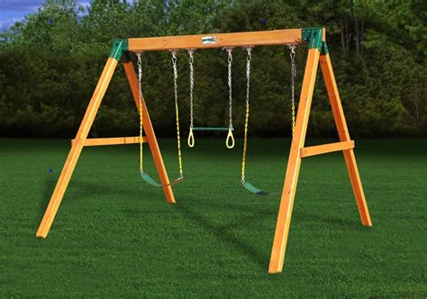 best small swing set small swing sets fun in your backyard cool outdoor toys