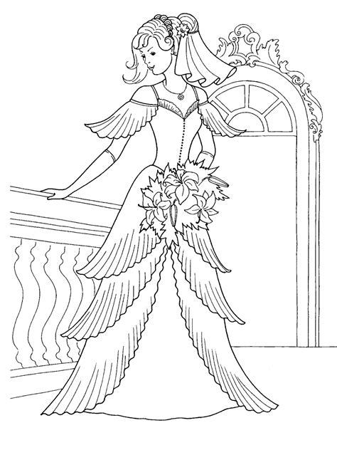 画像 女の子向け お姫様 プリンセスの塗り絵 ぬりえ 無料画像テンプレート素材 ドレス Naver まとめ And The 12 Princesses Coloring Pages