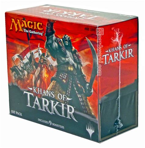 Magic Fatpack Dragons Of Tarkir magic the gathering khans of tarkir pack box da card world
