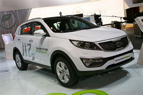 Kia Diesel Hybrid Car Wallpaper Kia Sportage Diesel Hybrid Concept