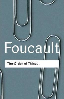 the order of things the order of things michel foucault 9780415267373