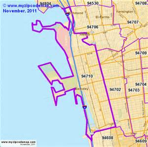 zip code map of 94710 demographic profile residential