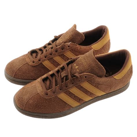 lyst adidas originals tobacco trainers st bark in brown for