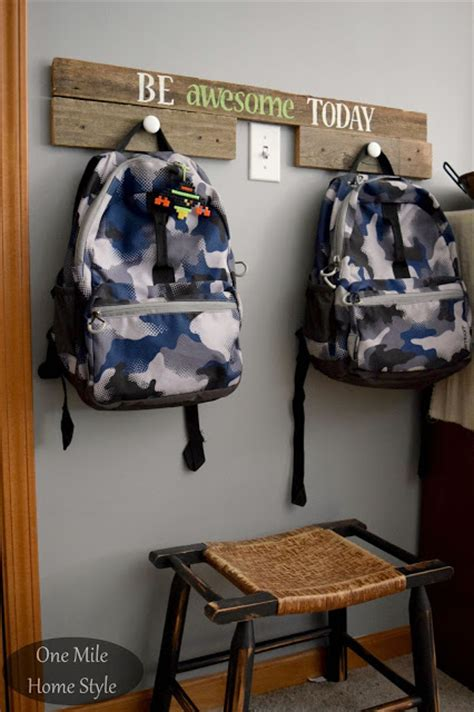 ideas for hanging backpacks 10 ideas for backpack storage and organization living