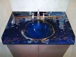 Custom Bathroom Vanity Tops With Sink Glass Countertop Stainless Steel Brackets Glass Sinks