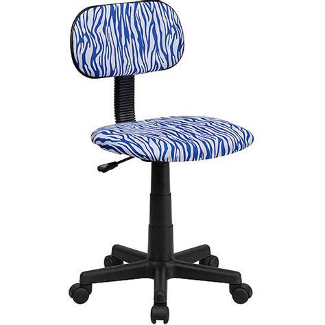 zebra desk chair walmart flash furniture patterned computer chair colors