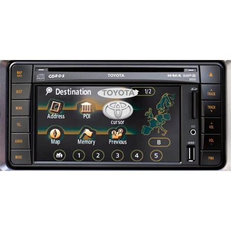 toyota navigation tns  sd card sat nav map update