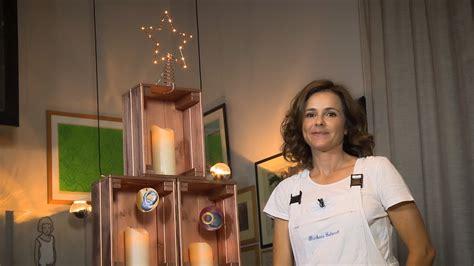 candele natale fai da te albero di natale fai da te con cassette di legno e candele