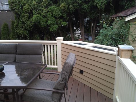 Built In Deck Planter Boxes by Custom Planter Box Buildstrong Construction