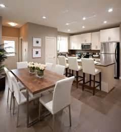 la cuisine ouverte sur la salle 224 manger 55 photos archzine fr fleur centres de table et