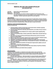 cover letter for billing specialist exciting billing specialist resume that brings the to you