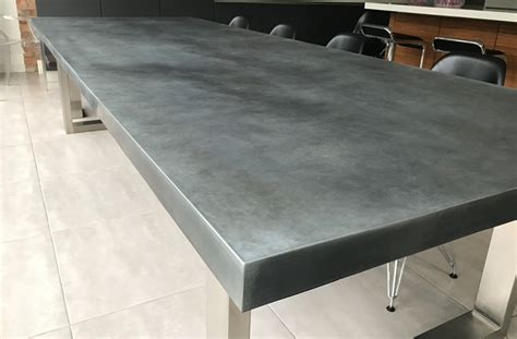Table Basse Zinc by Contemporary Zinc Furniture Zinc Tables Zinc Top