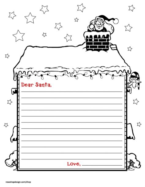 letter to santa free printable editable letter from santa new calendar template site