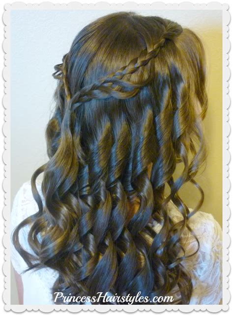 cute hairstyles for 6th grade dance hairstyley 8th grade dance hairstyle tutorial and dress princess