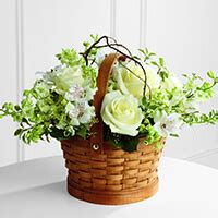 Harwood Home For Funerals by The Ftd 174 Peaceful Garden Basket Standard