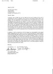 Job letter with reference chris ackerman