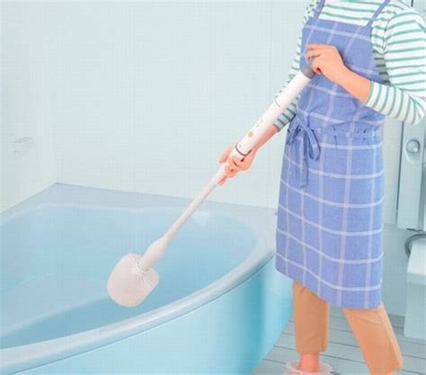 electric bathroom cleaning brush panasonic electric brush hassle free bathroom cleaning