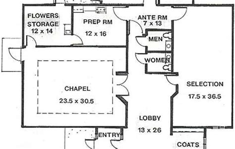 funeral home floor plans unique funeral home floor plan