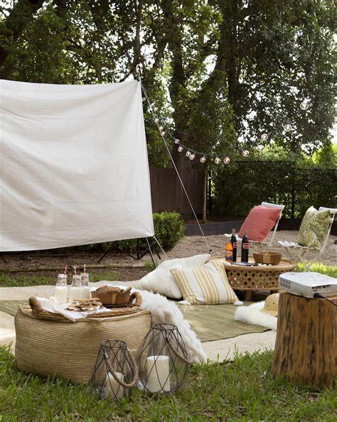 summer backyard  night camille styles