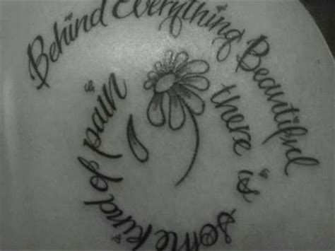tattoo flower quotes flower tattoos quotes and sayings quotesgram